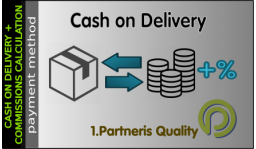 Cash on Delivery + Commission Fee Calculation for OpenCart 3x