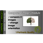 Compare 2 images module for Opencart 3x