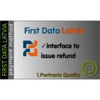 First Data Latvia For Opencart 3.x