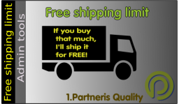 Free shipping limit for OpenCart 2.x