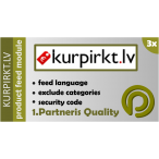 KurPirkt.lv Product Feed for Opencart 3.x
