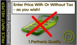 Cenu ievadīšanas (aprēķina) palīgs. Cenu ievadīšana ar PVN.